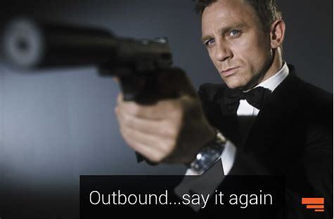 outbound meme James bond