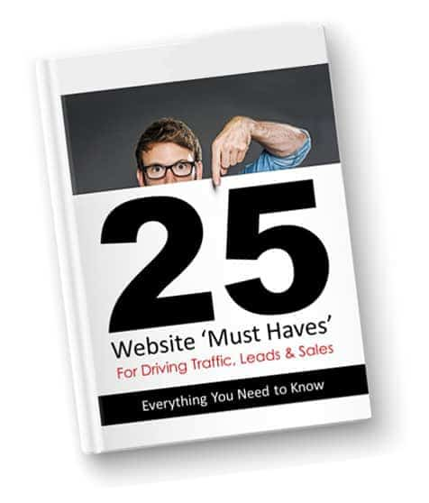 25 website must haves for driving traffic leads and sales