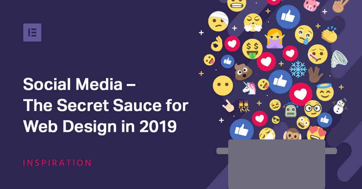 social media is the secret sauce for 2019